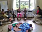 Kinderwortgottesdienst im Seelsorgeraum, April 2015