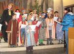 6.Jänner - Sternsinger in der Dreikönigsmesse