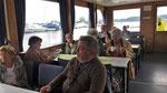 Sonntag: Auf der Fähre von Radolfzell auf die Insel Reichenau (1 von 4).