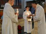 Kindermette, Friedenslicht aus Bethlehem