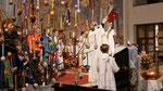 Auferstehungsfeier am Ostersonntag  um 5:00 Früh, Evangelium