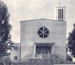 Kirche nach der Erbauung, 1936