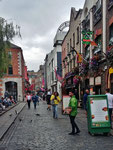 Montag: Spaziergang im Zentrum von Dublin.