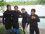 Jugendlichengerechte Raftingtour
