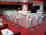 Messestand für Air Berlin in Zusammenarbeit mit surpreyes GmbH