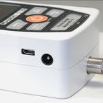 USB und Stromanschluss
