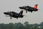 2x BAE Systems Hawk T2