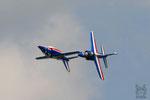 2x Apha Jet Patrouille de France