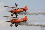 Breitling Wingwalker Team mit Boeing Stearman