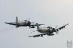 2x AD-4N Skyraider
