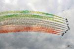Frecce Tricolori  10xMB339PAN