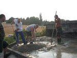Umbau Wasserbassin 2006