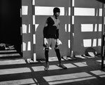 warten auf den Boxkampf