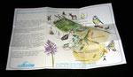 fascicule recto de présentation du site d'occitanis