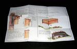 fascicule verso - construction d'un nichoir et d'un abris à hérisson