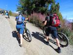 Wandern statt Biken