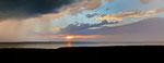 Gewitterfront überm Achterwasser, Insel Usedom