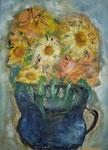 Stilleben - Sonnenblumenstrauß - still life - bunch of sunflowers - VERKAUFT/SOLD