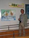Ralf zur Löwen hat uns bei der Bilderaufhängung und Anordnung sehr geholfen.
