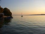 Abendstimmung  Starnberger See Nähe Berg