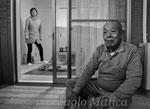 Il signor Shida nei rifugi per gli evacuati, Kawauchi.
