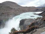 Der Wasserfall Salto Grande im Nationalpark Torres del Paine