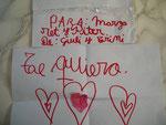Liebeserklärung an uns, zum Abschied von der 7 jährigen Guili, Nichte des Zahnarztes