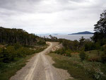 Wen treffen wir an dieser verlassenen Küste Richtung Estancia Moat? Michael, der mit uns auf dem Frachtschiff war