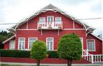 Das Gebäude des Schweizervereins in Punta Arenas. Hier wurden wir von einem Chilenen mit einer Grossmutter aus der Westschweiz angesprochen