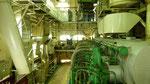 Im Maschinenraum ist es sehr laut und heiss