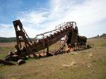 Im südlichsten Teil Chiles. Während des Goldrausches wurde diese Maschine gebraucht von 1905 bis 1908