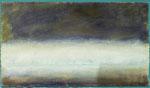 Innen/ Öl auf Keramik, Gips und Filz / 48 x 81cm / 2015