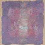 Tastend / Mischtechnik auf Keramik, Gips, Filz / 60 x 80cm / 2016
