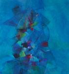 Babel / Acryl auf Textil / 150 x 160cm / 2018
