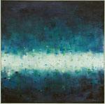 Spielwiese / Acryl auf Textil / 81 x 81cm / 2015
