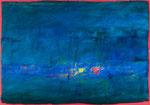 Farbige Schatten / Acryl auf Gips, Filz / 70 x 100cm / 2016