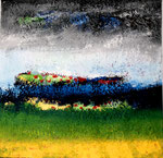 Landschaft, 60x60, A + M, oR