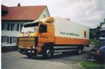 Isothermkastenwagen im Frischdienst für die Migros-Bäckerei Jowa