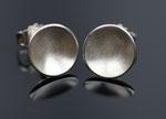 Schalen - Ohrstecker aus Silber