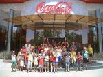 Visita a Coca cola 2012