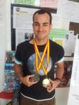 Andrés nuestro campeón de atletismo