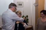 Ammä Bruno ist ein Stein vom Herzen gefallen und mit Freude gratuliert er den  Beamten 2015
