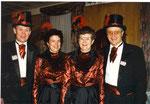 die Beamten 1997: König Franz Schröder, Under Rosie Halter, Näll Antoinette Büchler, Ober Paul Sigrist