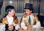 Geissober und Geisskönig 1994: Ober Maria von Flüe, König Thommy Kuster
