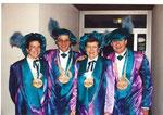 Die Beamten 1995: Näll Rosie Halter, König Sigrist Paul, Under Antoinette Büchler, Ober Franz Schröder