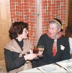 Under 1981: Agnes Ming mit ihrem Mann Kari