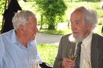 Geburtstagsfeier 2011: Schrackmann Hans und Wälti Willi
