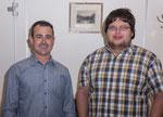 die Geissälpler freuen sich über zwei neue Mitglieder: Roger Spichtig und Peter Burch