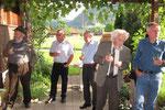 Geburtstagsfeier 2011: Zumstein Glois, Degelo Walti, Schrackmann Hans, Wälti Willi, Burch Bruno