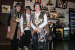 Geissnäll Silvia, Geissober Elisabeth, Geissunder Lisbeth, Geisschüng Yvonne musste krankheitshalber zu Hause bleiben.